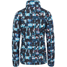 The North Face Thermoball Jacket Women Multi Glitch Print